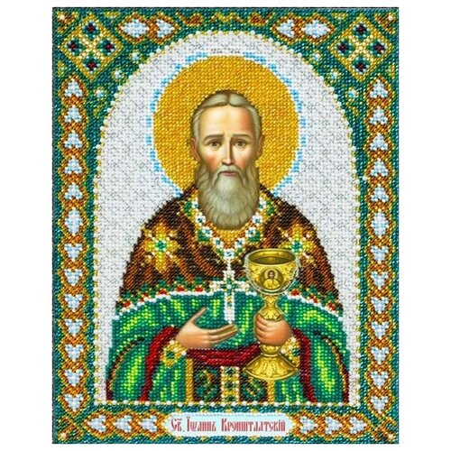 Купить Набор Святой Иоан Кронштадтский 20х25 Паутинка Б-1057, Наборы для вышивания