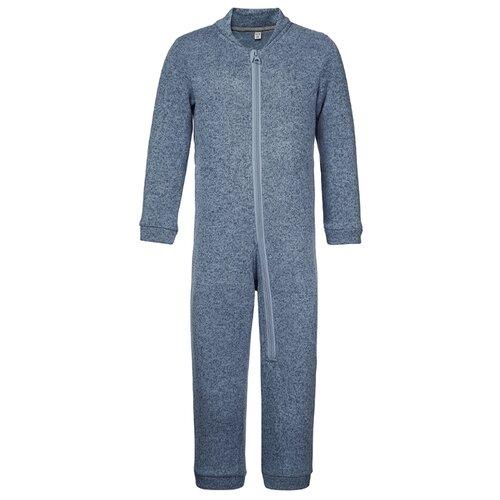 Купить Комбинезон Oldos размер 86, серо-голубой меланж, Комбинезоны