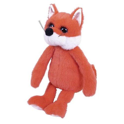 Мягкая игрушка ABtoys Реснички. Лисичка рыжая 20 см ABtoys   фото