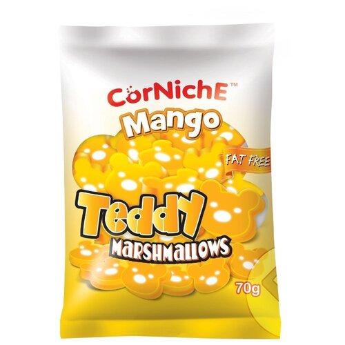 Маршмеллоу CorNiche Teddy манго, 70 г маршмеллоу corniche teddy яблоко 70 г