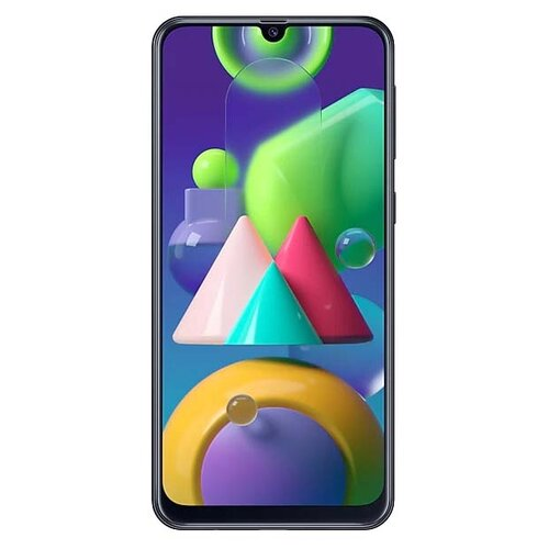 Смартфон Samsung Galaxy M21 черный (SM-M215FZKUSER) смартфон samsung galaxy s8 sm g950f 64gb жёлтый топаз
