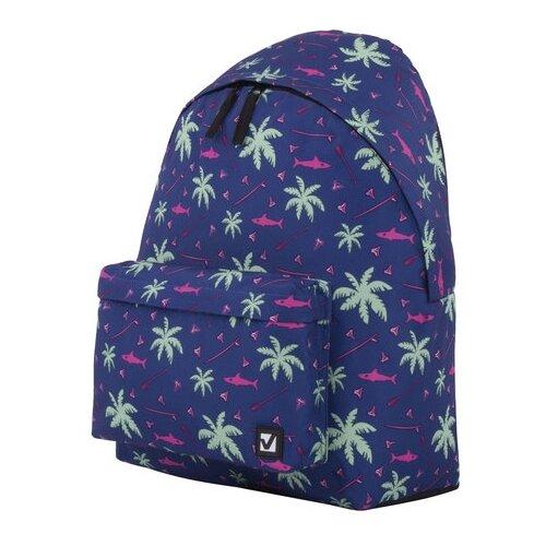 Городской рюкзак BRAUBERG Пальмы, пальмы