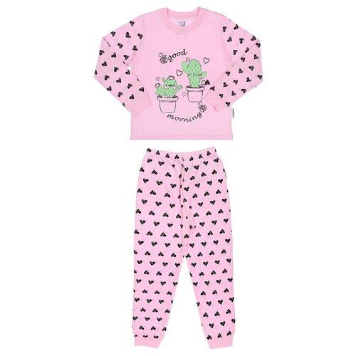 Купить Пижама RuZ Kids размер 122-128, розовый, Домашняя одежда