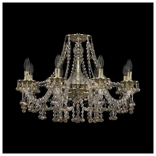 Люстра Bohemia Ivele Crystal Ivele Crystal 16109/8/240 GB K801, E14, 320 Вт, кол-во ламп: 8 шт., цвет арматуры: бесцветный люстра bohemia ivele crystal 1716 8 8 4 265b gb