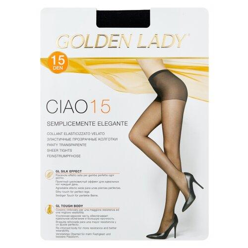 Колготки Golden Lady Ciao 15 den, размер 2-S, nero (черный) колготки golden lady ciao 20 den размер 3 m nero черный