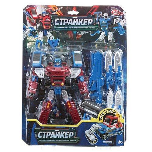 Купить Трансформер, Страйкер, Play Smart, 2 вида, СRD 31х43 см., арт. 8129., Роботы и трансформеры