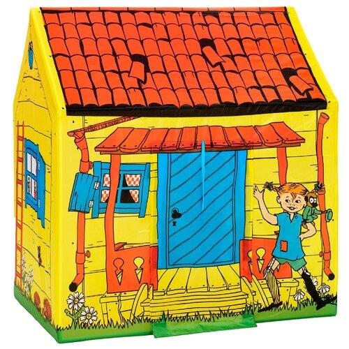 Купить Палатка Micki Домик Пеппи Длинныйчулок желтый/красный/синий, Игровые домики и палатки