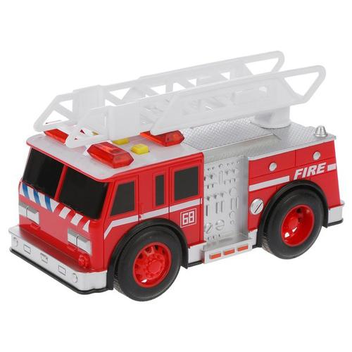 Пожарный автомобиль Yako Городские службы (M0271-1F) 18 см красный yako yako радиоуправляемая машина городские службы эвакуатор 1 20