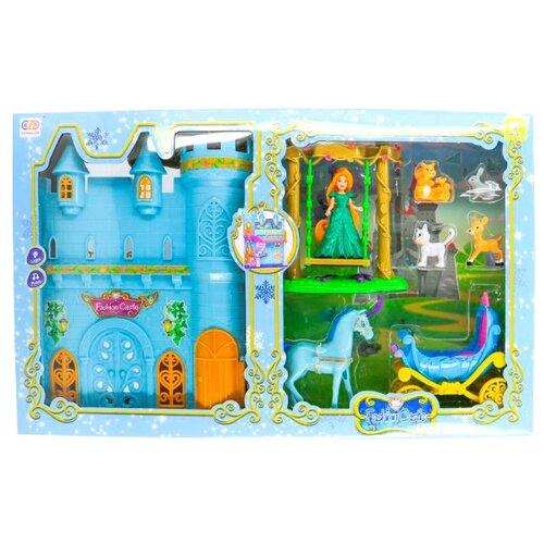 Кукла Play Smart c замком и каретой, C302-H40007 play smart кухонные принадлежности и муляжи веселый поваренок 47х30см р41347