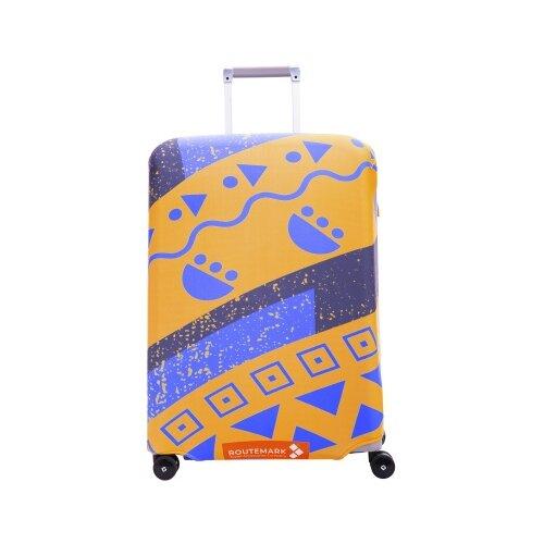 Чехол для чемодана ROUTEMARK Кэйптаун SP240 M/L, оранжевый чехол для чемодана routemark искры и блестки art lebedev sp310 s фиолетовый
