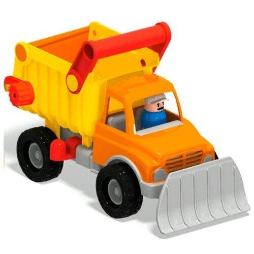 Купить Грузовик Stellar 01463 30 см желтый/оранжевый, Машинки и техника