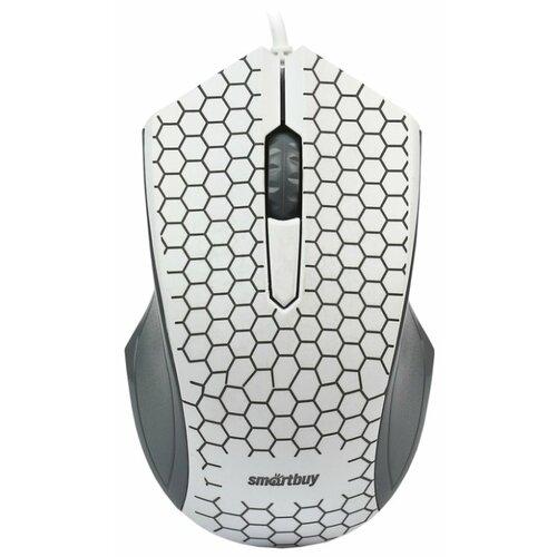 Мышь SmartBuy SBM-334-W White USB