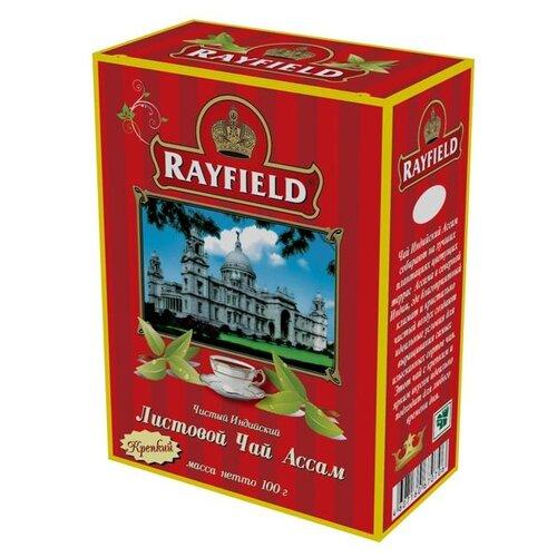 Чай черный Rayfield Ассам крепкий, 100 гЧай<br>
