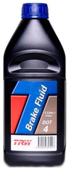 Тормозная жидкость TRW DOT4 PFB401 1 л