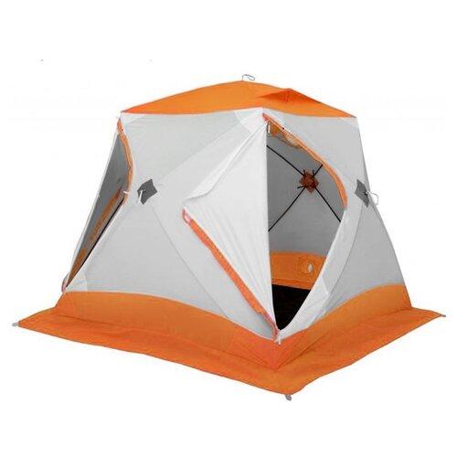 Палатка ЛОТОС Куб 3 Классик А8 оранжевый