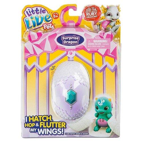 Купить Робот Moose Little Live Pets Дракончик 28644 сплэш/шивер, Роботы и трансформеры