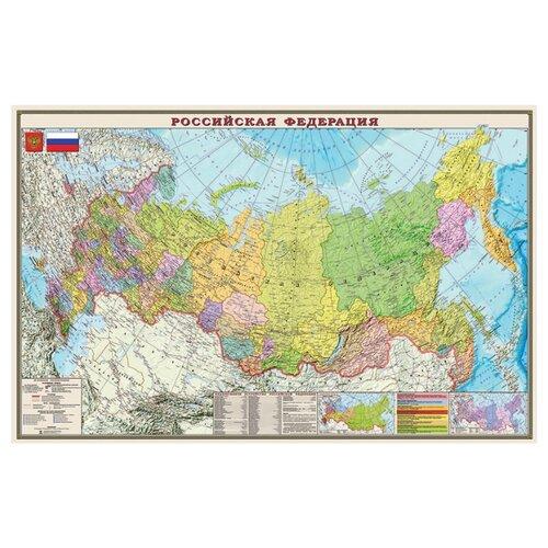 DMB Политико-административная карта Российской Федерации 1:7 (4607048958360)