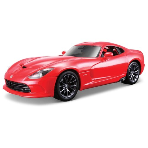 Купить Легковой автомобиль Bburago Street Fire 2013 Dodge SRT Viper GTS (18-43000/12) 1:32 красный, Машинки и техника