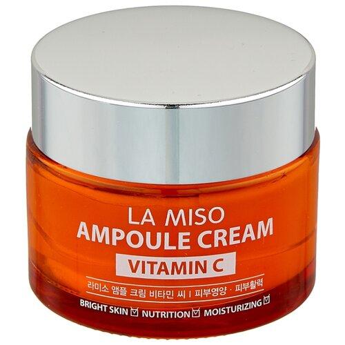 La Miso Ampoule Cream Vitamin C Крем для лица с витамином С, 50 мл la miso ampoule cream hyaluronic крем для лица с гиалуроновой кислотой 50 г