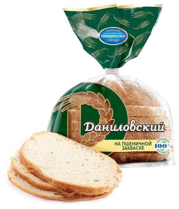 Коломенское Хлеб Даниловский пшенично-ржаной на пшеничной закваске в нарезке 275 г