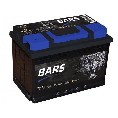 Автомобильный аккумулятор BARS 6СТ-77 АПЗ о.п.
