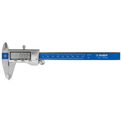 Цифровой штангенциркуль ЗУБР Эксперт 34463-150 150 мм, 0.01 мм цифровой штангенциркуль norgau ip67 200мм 0 01мм 040051020