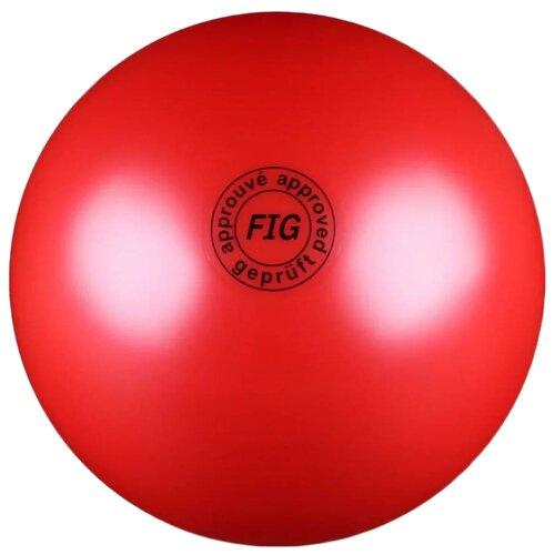 Мяч для художественной гимнастики Indigo AB2801 красный