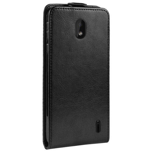 Чехол MyPads Черный престиж из кожи для Nokia 1 Plus для Nokia 1 Plus черный чехол mypads для lg g5 противоударный усиленный ударопрочный синий