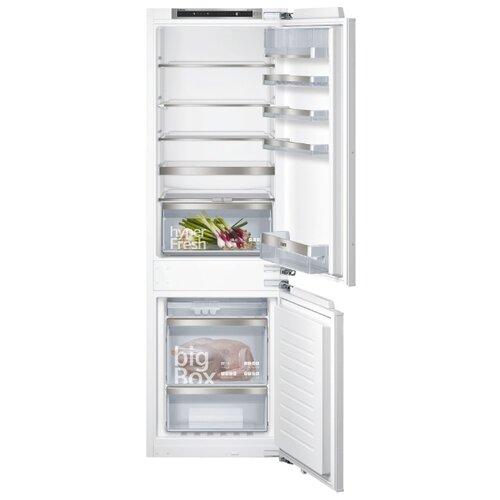 Встраиваемый холодильник Siemens KI86NHD20R встраиваемый двухкамерный холодильник siemens ki 86 nvf 20 r
