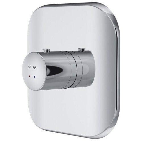 Смеситель монтируемый в стену с термостатом без внутренней части AM.PM Sensation F3075500