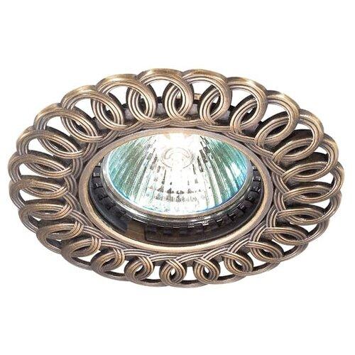 Встраиваемый светильник Novotech Flower 369878 встраиваемый светильник novotech wood 369717
