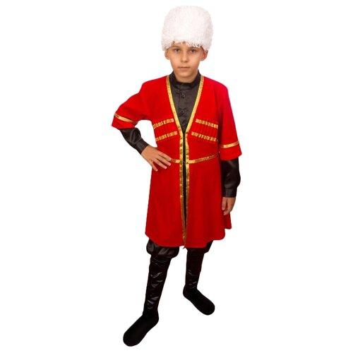 Купить Костюм Elite CLASSIC Армянский мальчик, красный, размер 28 (116), Карнавальные костюмы