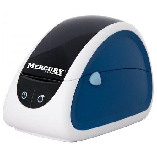 Термальный принтер этикеток Mertech LP80 синий