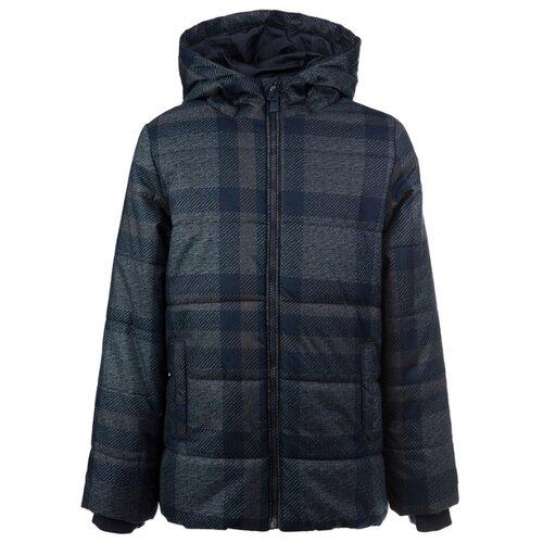 Куртка playToday Classic 2020 22011076 размер 152, серый/темно-синий, Куртки и пуховики  - купить со скидкой