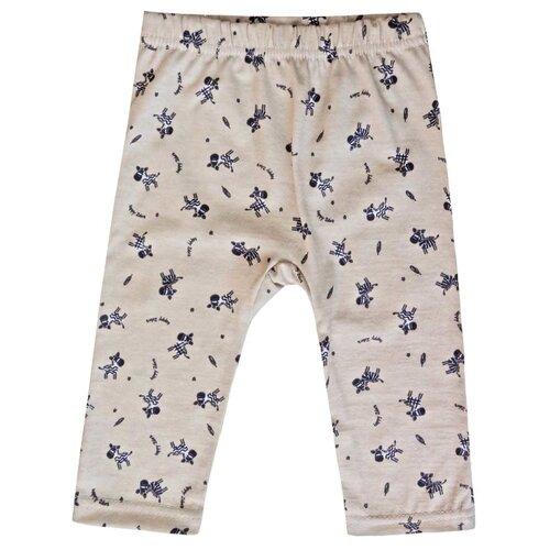 Купить Брюки KotMarKot Озорная зебра 5994 размер 62, бежевый, Брюки и шорты