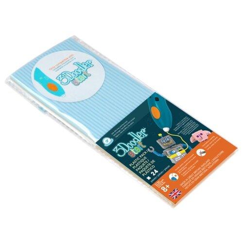 Эко-пластик пруток 3Doodler Start 3 мм голубой