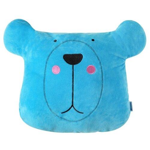 Подушка декоративная Крошка Я Мишка 48 х38 см голубой