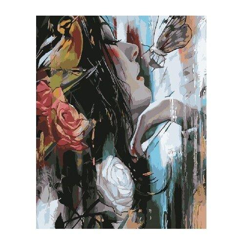 Купить ВанГогВоМне Картина по номерам Чувственная девушка , 40х50 см (ZX 21635), Картины по номерам и контурам