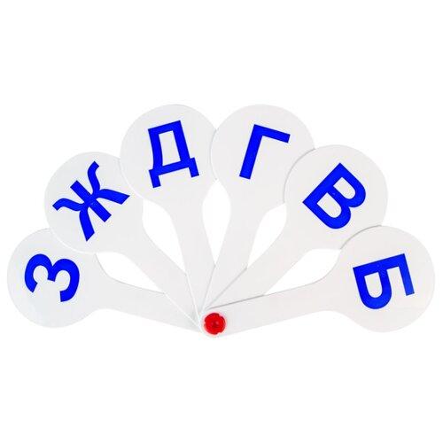 Купить Набор букв Пифагор Веер-касса. Парные согласные буквы, Обучающие материалы и авторские методики