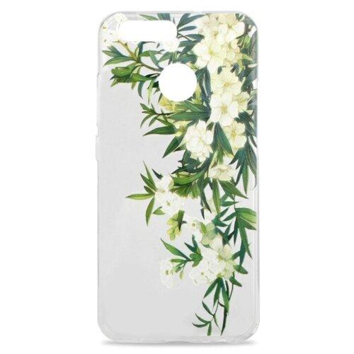 Чехол Pastila Summer mood для Huawei Nova 2 белые цветы