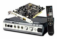 Внутренняя звуковая карта с дополнительным блоком Creative Audigy 2 Platinum eX