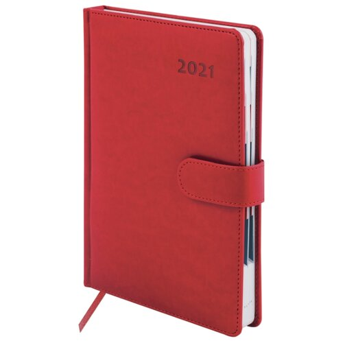 Купить Ежедневник Galant Ritter датированный на 2021 год, искусственная кожа, А5, 168 листов, красный, Ежедневники, записные книжки