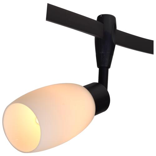 Трековый светильник Arte Lamp A3059PL-1BK arte lamp накладной светильник mantra mara 1706
