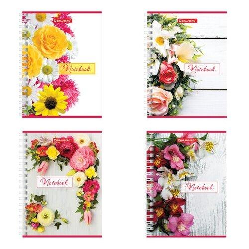 Фото - Блокнот BRAUBERG Цветы А6, 60 листов 129841 блокнот brauberg цветы a6 60 листов