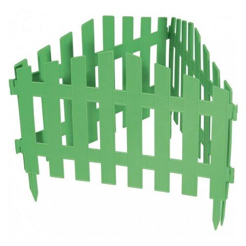 Забор декоративный PALISAD Марокко, зеленый, 3 х 0.28 м
