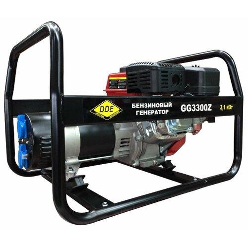 Бензиновый генератор DDE GG3300Z (2800 Вт) бензиновый генератор dde g550e 5000 вт