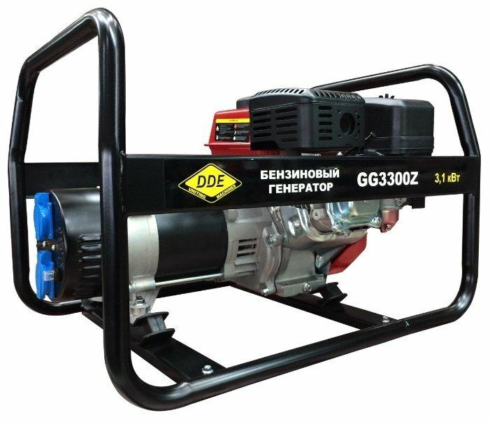 Бензиновый генератор DDE GG3300Z (2800 Вт)