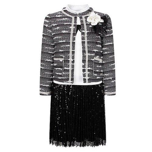 Купить Комплект одежды Lesy размер 152, черный/белый, Комплекты и форма