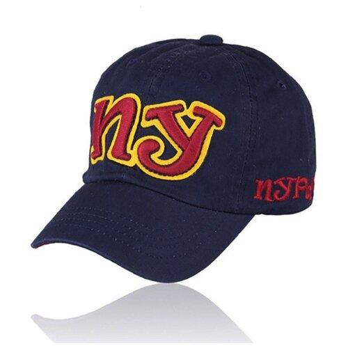 Бейсболка Be Snazzy размер 52-54, темно-синий бейсболка robin ruth russia цвет темно синий crus119 b размер универсальный