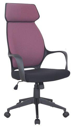 Купить Компьютерное кресло Brabix Galaxy EX-519 для руководителя, обивка: текстиль, цвет: черный/терракотовый по низкой цене с доставкой из Яндекс.Маркета (бывший Беру)